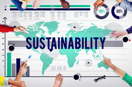 environmental conversation: Sustainability Environmental Conversation Resource Concept Stock Photo