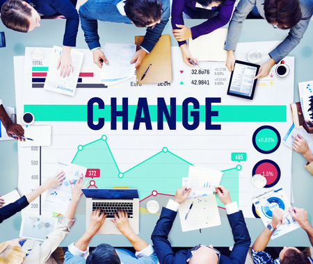 business change: Change Future Innovation Strategy Marketing Business Concept