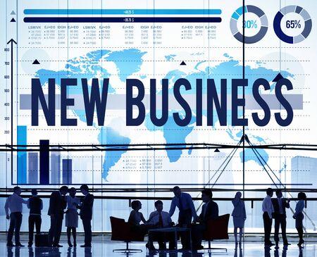 stock market launch: New Business Start Up Planning Creativity Ideas Concept