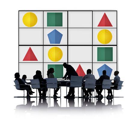leisure games: Sudoku Puzzle Problem Solving Leisure Games Concept