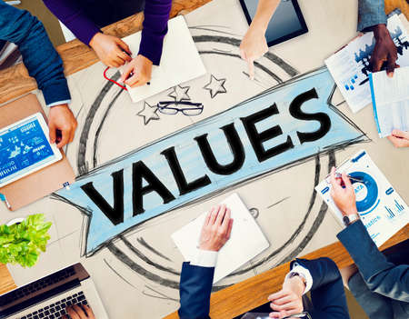 bondad: Valores Bondad Worth concepto de calidad de Promoci�n
