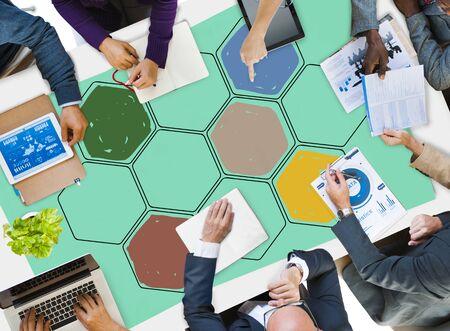 hive: Bee Hive Honey Community Teamwork Concept