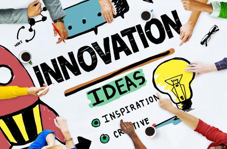 Innovatie Business Plan Creativiteit Missie Strategie Concept