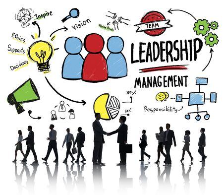 liderazgo: La diversidad de negocios Gestión de Personas Liderazgo Saludo concepto de asociación