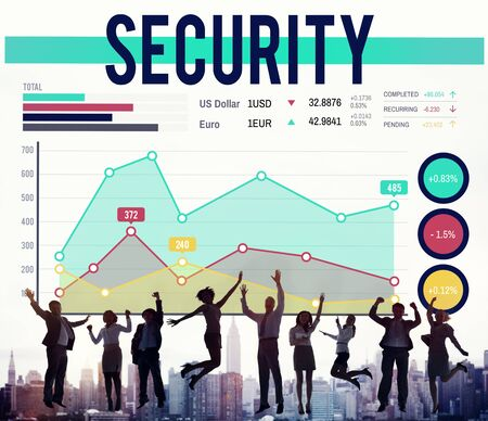 winning stock: Security Privacy Protection Secrecy Networking Concept