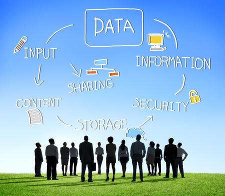 Data Analysis Storage Information Concept Stock Photo