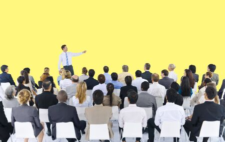 conference meeting: Business People Seminar Conference Meeting Presentation Concept