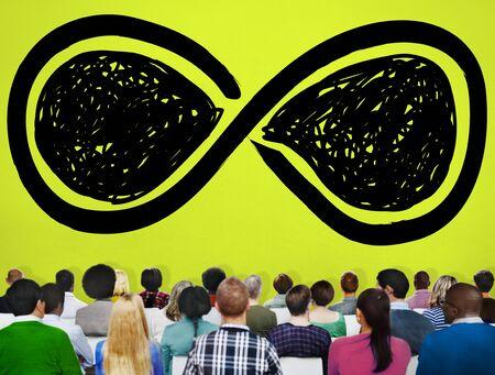 bucle: Infinity Eternidad Loop siempre Concepto Eterno