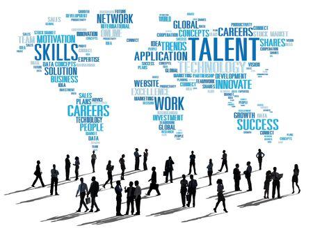 expertise concept: Talent Expertise Genius Skills Professional Concept