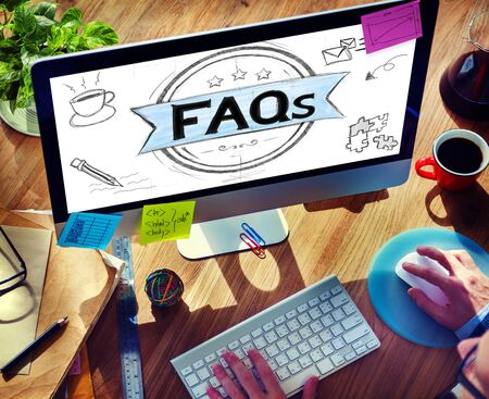 questions: Faq Frequently Asked Questions Guidance Explanation Concept