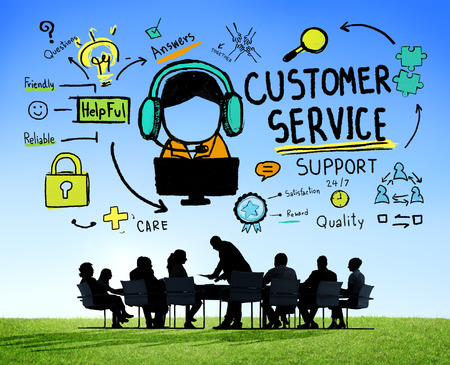 call of nature: Customer Service Support Assistance Service Help Guide Concept