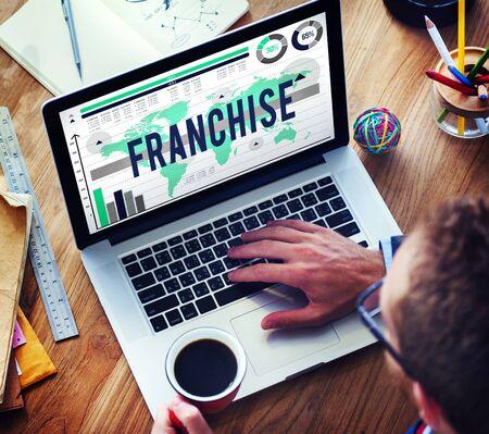 Franchise License Marketing Branding Retail Concept