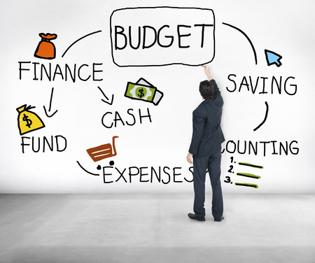 cash flow: Budget Finance Cash Fund Saving Accounting Concept