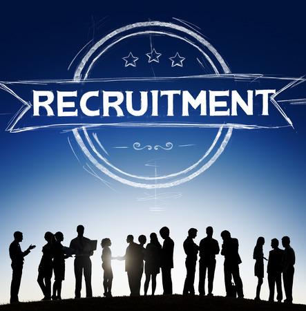 job occupation: Recruitment Hiring Skills Job Occupation Concept