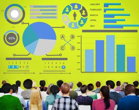 Bar Graph Chart Data Information Inforgraphic Report Concept