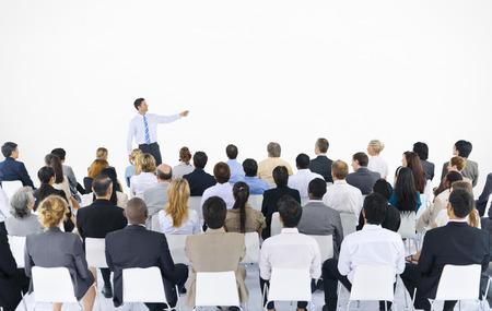 Geschäftsleute Seminar Konferenz Meeting Präsentationskonzept Standard-Bild