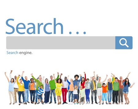 search info: Search Browse Find Internet Search Engine Concept