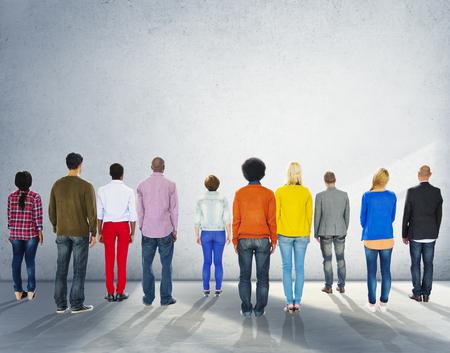 zweisamkeit: R�ckansicht Zusammenhalt Nehmens Team Konzept