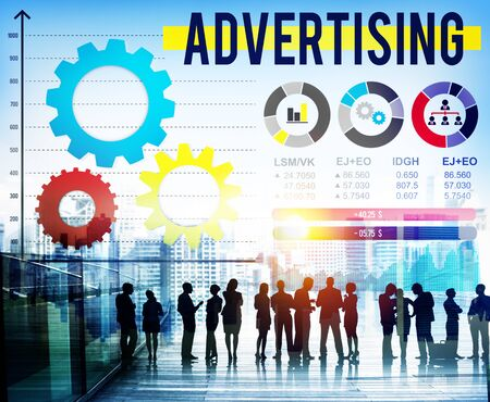 advertise: Advertise Advertising Advertisement Branding Concept