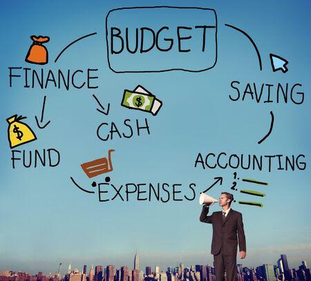 fund: Budget Finance Cash Fund Saving Accounting Concept