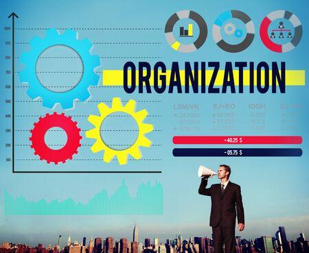 Organization Business Management Productivity Concept Stock Photo