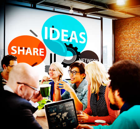 conocimiento: Ideas Innovaci�n Creatividad Inspiraci�n Conocimiento Vision Concept Foto de archivo