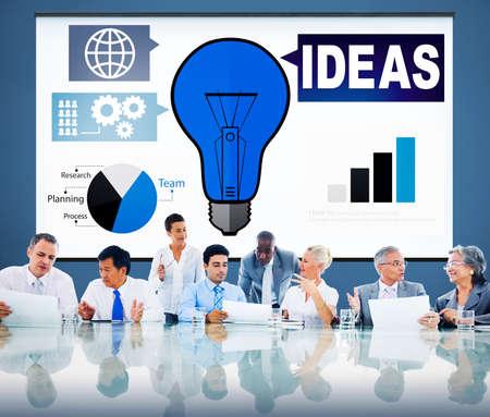 creativity: Ideas Creativity Graph Inspiration Thoughts Internet Concept