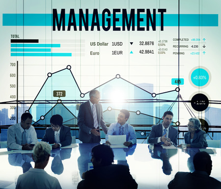 managing: Management Organization Manager Managing Concept