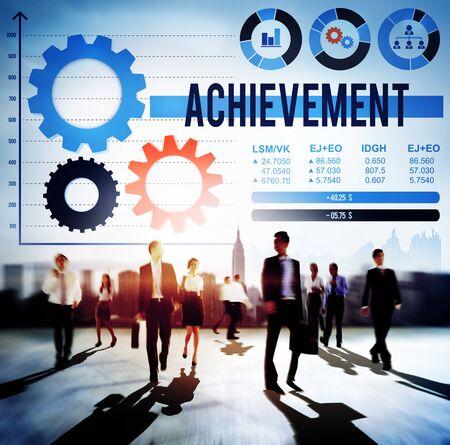 accomplishment: Achievement Accomplishment Development Success Concept