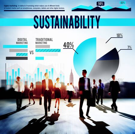 viable: Sustainability Resource Conservation Viable Concept Stock Photo
