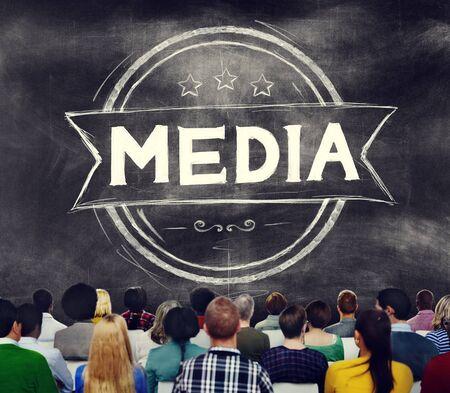 journalism: Media Journalism Multimedia Communication Internet Concept