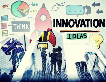 business innovation: Innovation Business Plan Creativity Mission Strategy Concept