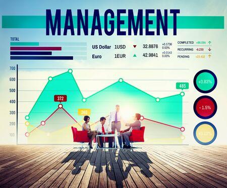manager: Management Organization Manager Managing Concept