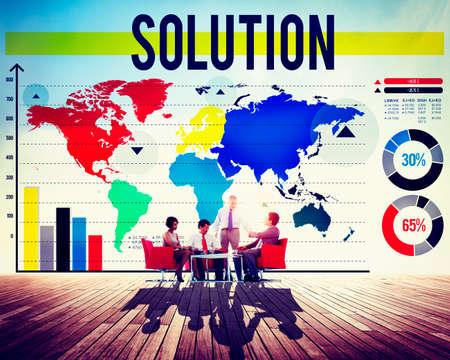 problem solution: Solution Problem Solving Decision Answers Concept
