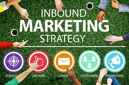 estrategia: Estrategia de Marketing Inbound Soluci�n de comercio Concepto