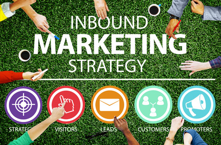 strategy: Inbound Marketing Strategy Commerce Solution Concept