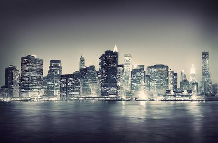 都市景観ニューヨーク建築旅行の概念