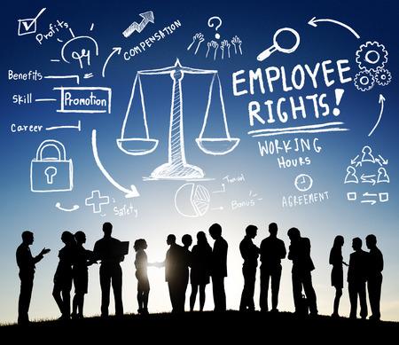 Employee Benefits Rights Working Ervaring Career Compensation Concept