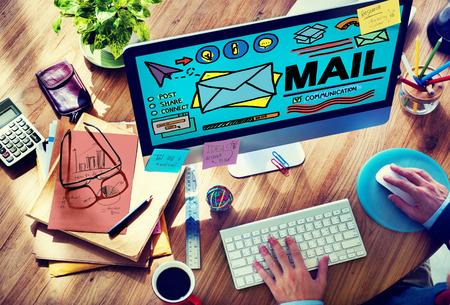 Mail Message Inbox Letter Communication Concept