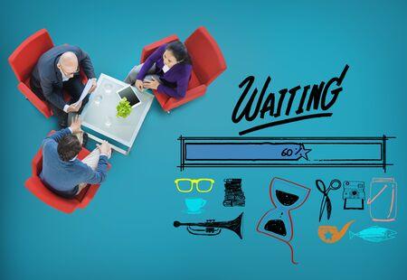 uploading: Waiting Loading Uploading Downloading Progress Concept