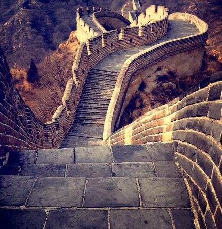 万里の長城旅行中国文化の概念 写真素材 - 42885733