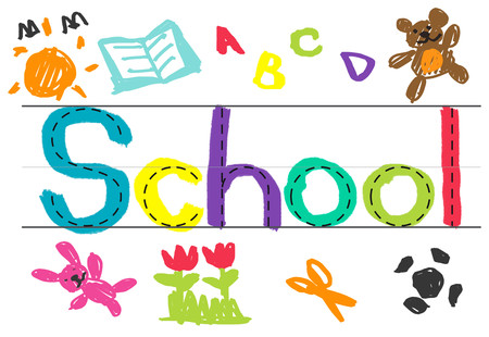 School concept 스톡 콘텐츠