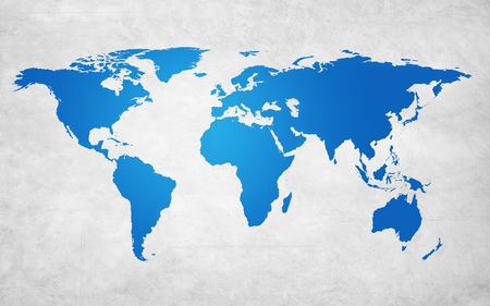 Global map concept Stock Photo