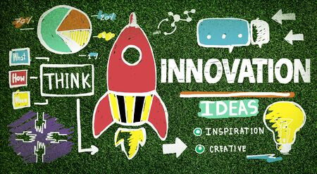 innovation growth: Innovation Business Plan Creativity Mission Strategy Concept