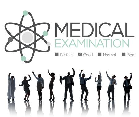 eastern medicine treatment: Medical Examination Check Up Diagnosis Wellness Concept Stock Photo
