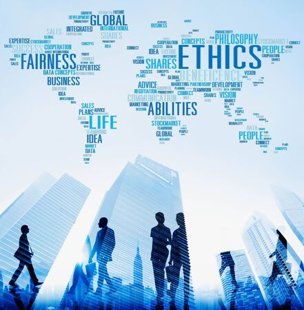 morals: Ethics Ideals Principles Morals Standards Concept