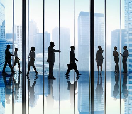 professional occupation: Business People Corporate Office Concept