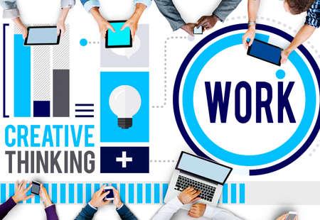 colaboracion: Trabajar Trabajo Trabajo Carrera Colaboraci�n Concepto