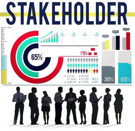 collaborator: Stakeholder Corporate Shareholder Partner Agreement Concept Stock Photo