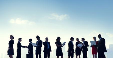 Zaken Mensen Samenwerking Team Teamwork Professional Concept